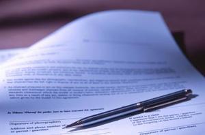 Hur att skriva ett kontrakt