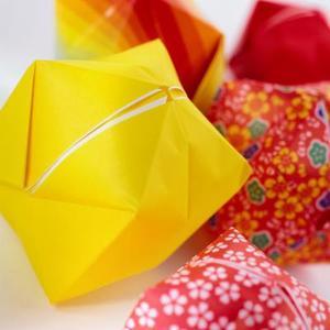 Hur man gör en Origami Stellated Octagon Star