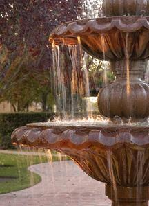 Formar för att göra yttre vatten fontäner