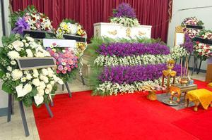 Flyers idéer för en begravningsbyrå