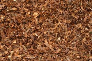 Kan Cedar marker användas för Mulching?