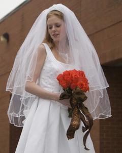 Varför kvinnor bära slöja bröllop?