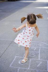 Plyometric spel för barn