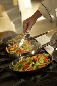 Hur man steker grönsaker & paprika
