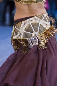 Hur man gör en dans kjol eller bälte
