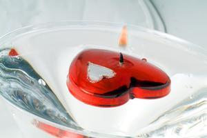 Hur man gör martini glas centerpieces