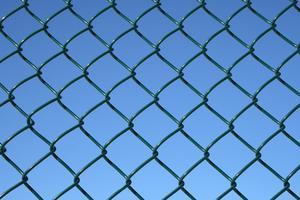 Hur man bias cut på en kedja länk staket