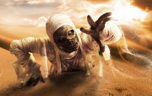 Hur man gör en nr-sy mumie kostym