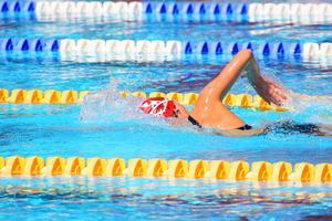 Hur man beräkna kalorier brände per minut av simning