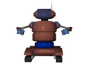 Typer av styrning system används på robotar