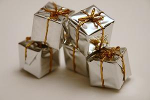 Tack presenter till kunder eller medarbetare