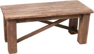 En hemgjord Pine bänk