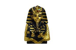 Vad är egyptiska död masker gjorda av?