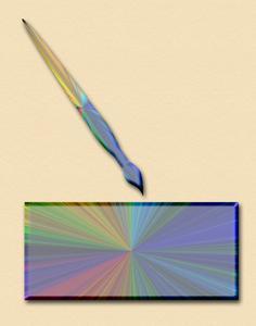Hemgjord UV-bläck