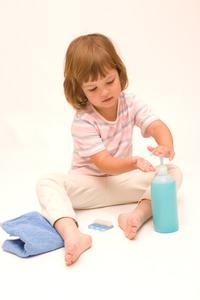 Hur man undervisar handtvätt till förskolebarn