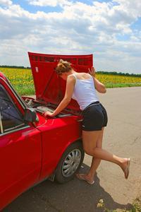 Symptomen på en död bilbatteri