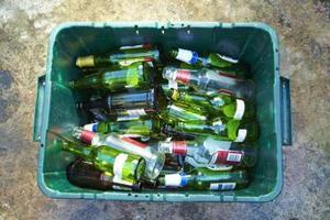 Idéer för återvunnet glas kök bänkskivor