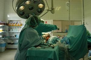 Typ av kirurgiska instrument som används av en ortoped