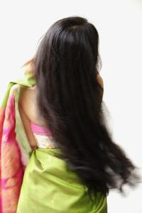 Frisyrer för midja längd hår