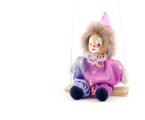 Hur man gör en Clown ansikte från hantverk