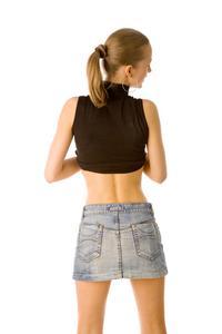 Vad är en uppsvälld mage & nedre vänstra ryggvärk?