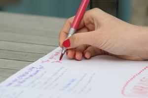 Hur man skriver en personlig vision & verksamhetsmål
