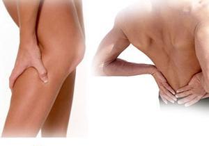 cysta ont i ryggen