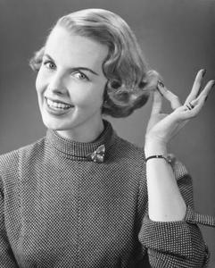 Frisyrer från 1940-talet-1950-talet