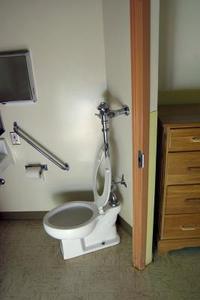 Vatten buggar i toaletten