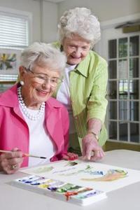 Arts & hantverk för nedsatt äldre