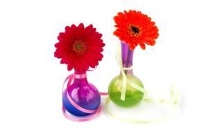 Dekorativa klart glasbehållare