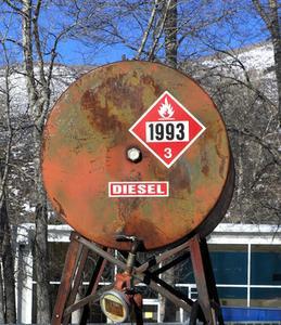 Vad är det Pråligt pekar av dieselbränsle?