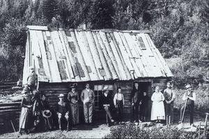 Delar av kvinnornas klänningar 1850
