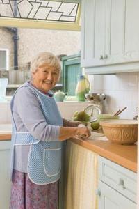 Lätt måltider för äldre föräldrar
