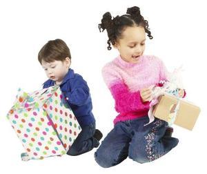 Enkel hemmagjord småbarn gåvor