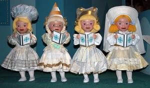 Hur man gör en kåda docka