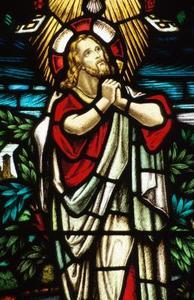 Jesus ber i trädgården Craft