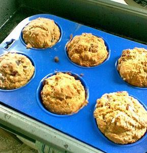 Hur man bakar lowcarb Muffins