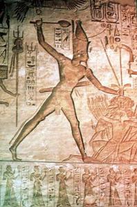 Vad är innebörden av egyptisk konst?