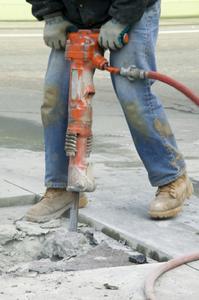 Lista över verktyg för att bryta upp betong