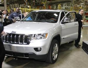 Jeep Cherokee motor specifikationer