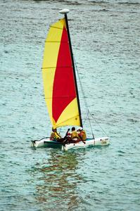 Hur att segla en Hobie 16