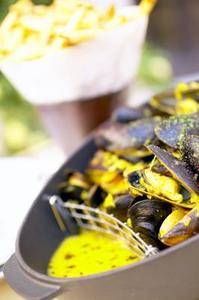 Hur ånga & ren musslor