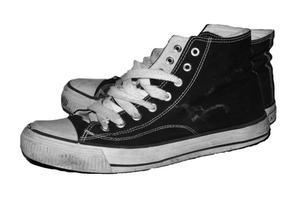 Hur man spetsar skor att göra dem utseende Gangster