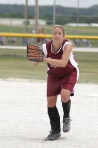 Hur du tonhöjd en knoge bollen underhandskastning i Softball