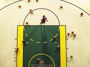 Hur att märka basketplanen