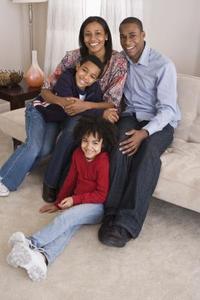 Familjeporträtt idéer för fotografering