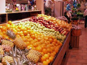 Frukt & vegetabiliska klassificeringar