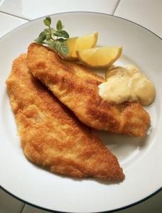 Hur man gör en enkel fisk eller svamp smeten
