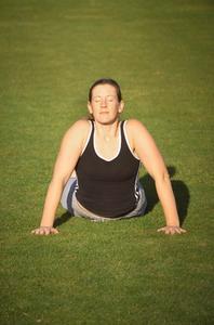 Övningar för en klämd nerv i nedre delen av ryggen